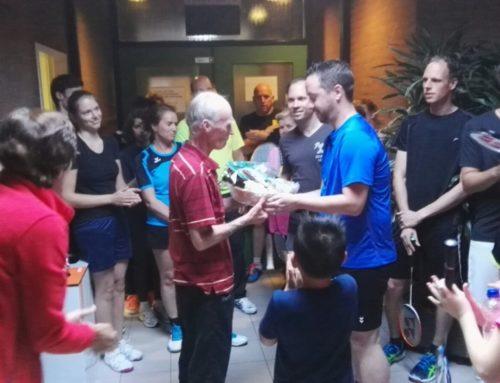Afscheid trainer Rob Scheffer