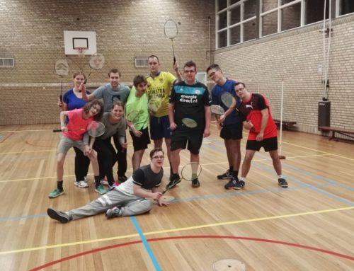 Badmintontraining aan KansPlus