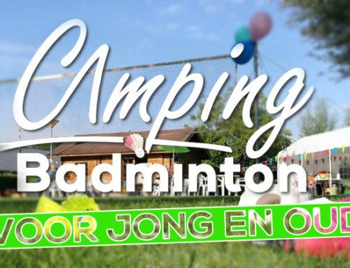 4de editie Camping Badminton Toernooi
