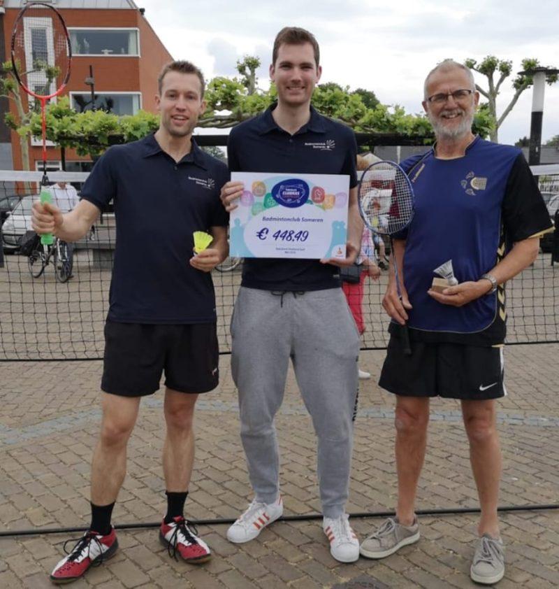 badmintonclub Someren Rabobank clubkas campagne 2019