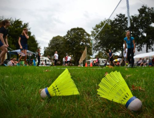 Camping badminton toernooi groot succes