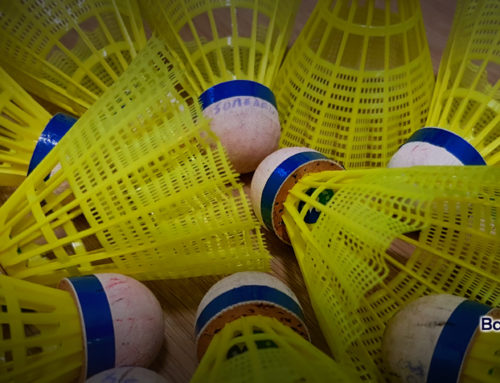 Badmintonnen en corona
