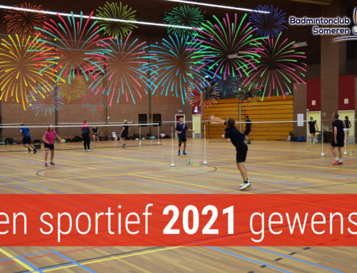Een sportief 2021 gewenst!