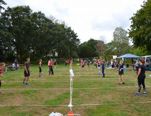 Bijna weer badmintonnen!
